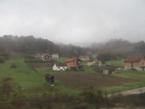 Northern Bosnia on a dreary November day