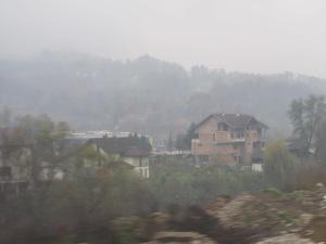 Between Zagreb and Sarajevo