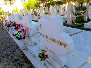 The cemetery. Beautiful but morbid.