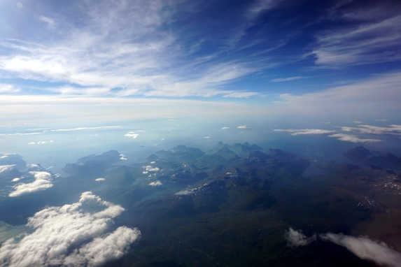 """""""...of mountains and sea. Of clouds and fjords..."""""""