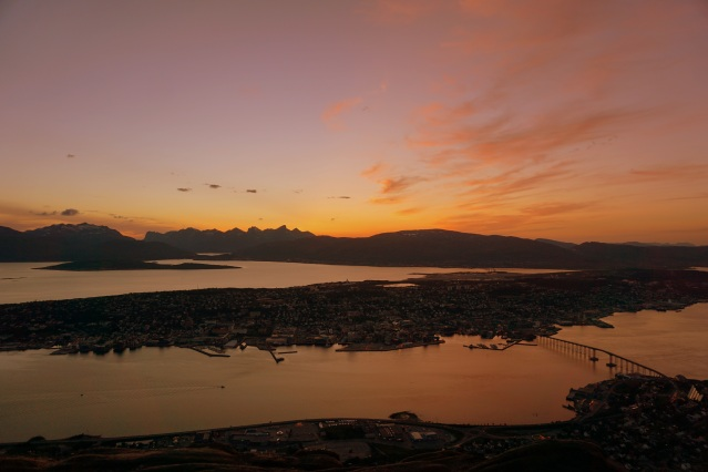 """...Tromsø, when the sun goes down..."""