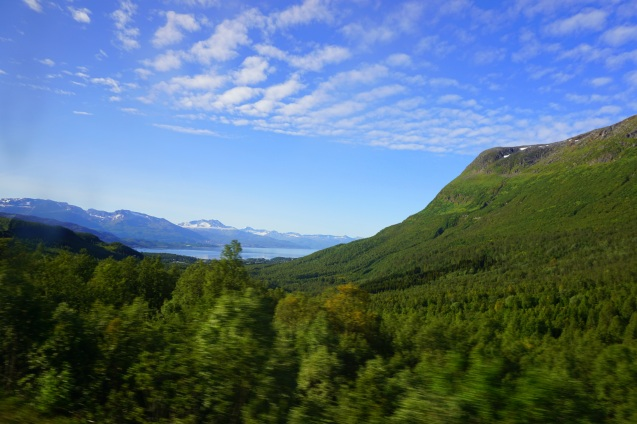 """...perks of a bus ride in the Arctic Circle..."""