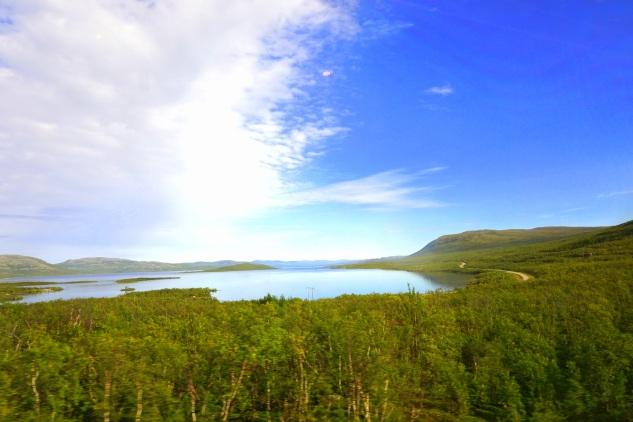 """"""" ...a lake up on the plateau..."""""""