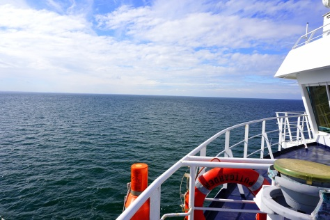 """""""...crossing to Germany on a ferry..."""""""